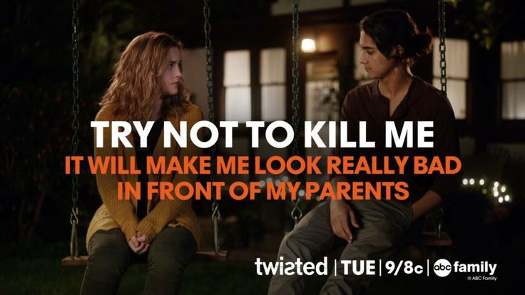 Twisted ABC Family | Season 1, Episode 2 Grief is a Five Letter Word | Quotes