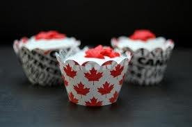 Canada cupcakes!