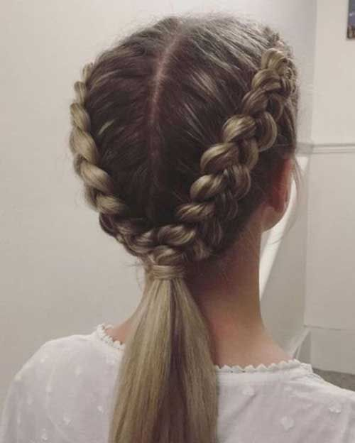 Latest Braided Long Hairstyles for Women - #Women #Hairstyles # for #Braided #Lange