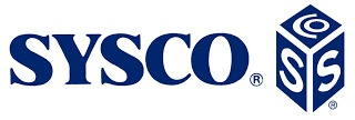 Sysco company logo. Check out my blog to see why buying their stock is a great investment.