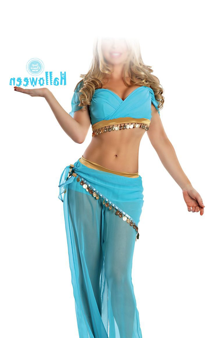 Бренд принцесса жасмин костюм женщины взрослых аладдин косплей хэллоуин костюмы для женщин танец живота платье Большой размер купить на AliExpress