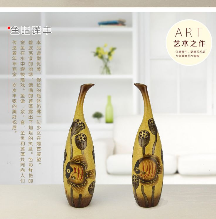 Aliexpress.com : Buy Decorative Ceramic Vases Originality for Living Room Home…