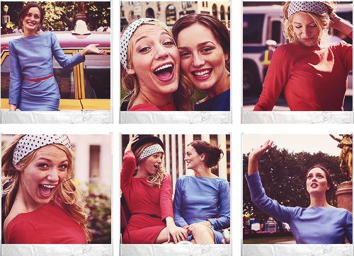 Blair & Serena Photoshoot  Have a photoshoot with friends in NYC