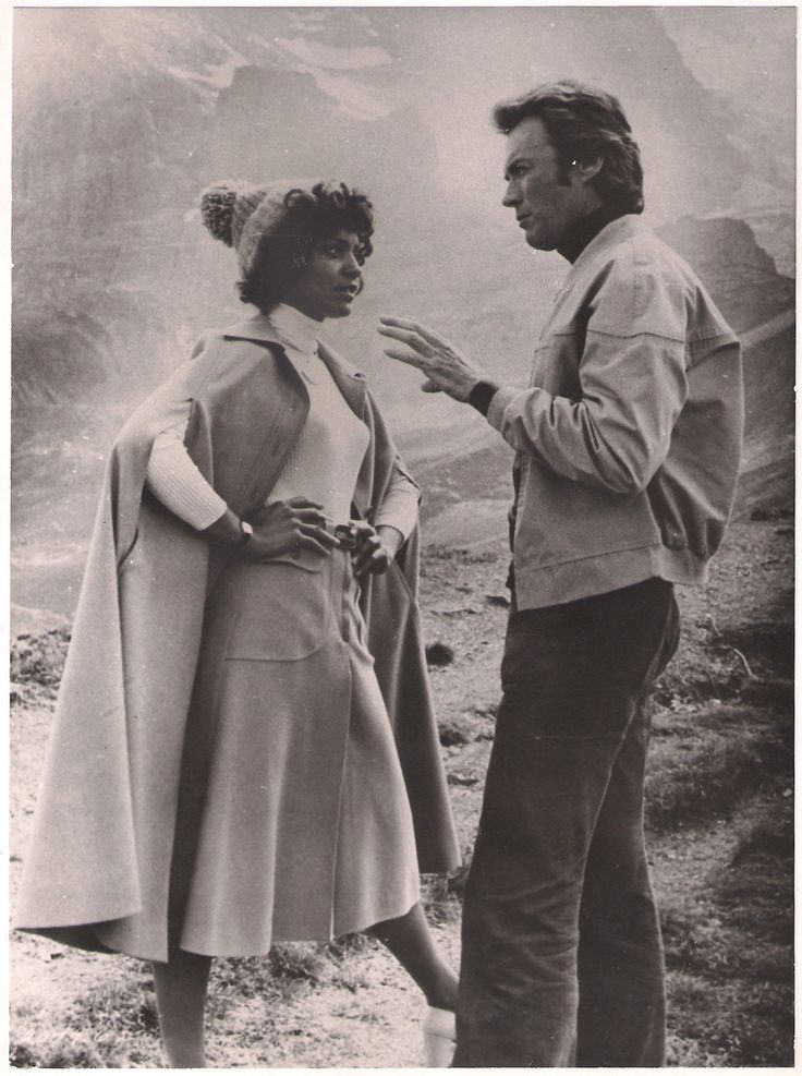 Vonetta McGee and Clint Eastwood in The Eiger Sanction