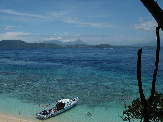 View of North Sulawesi from Bangka Island, North Sulawesi © 2007 Laszlo Muzlai