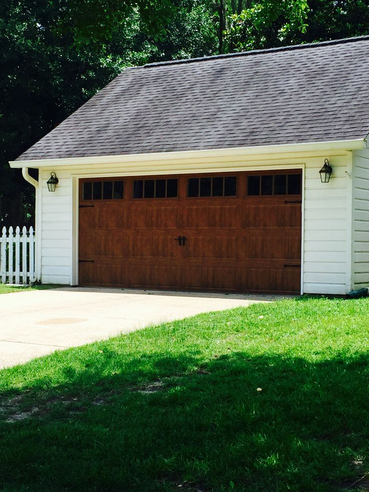 67 best wood look garage doors without the upkeep images for Garage door curb appeal