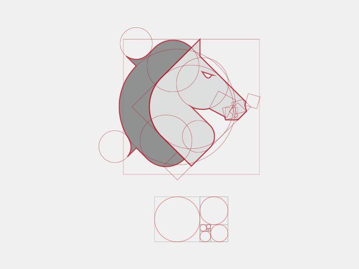 WideHorse logo - Golden Ratio
