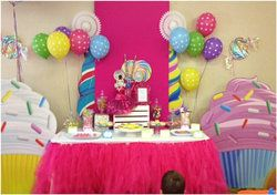 """Photo 16 of 68: Candy Land Sweet Shoppe / Birthday """"Aliyah's 1st Birthday """"Candy Land Sweet Shoppe""""""""   Catch My Party"""