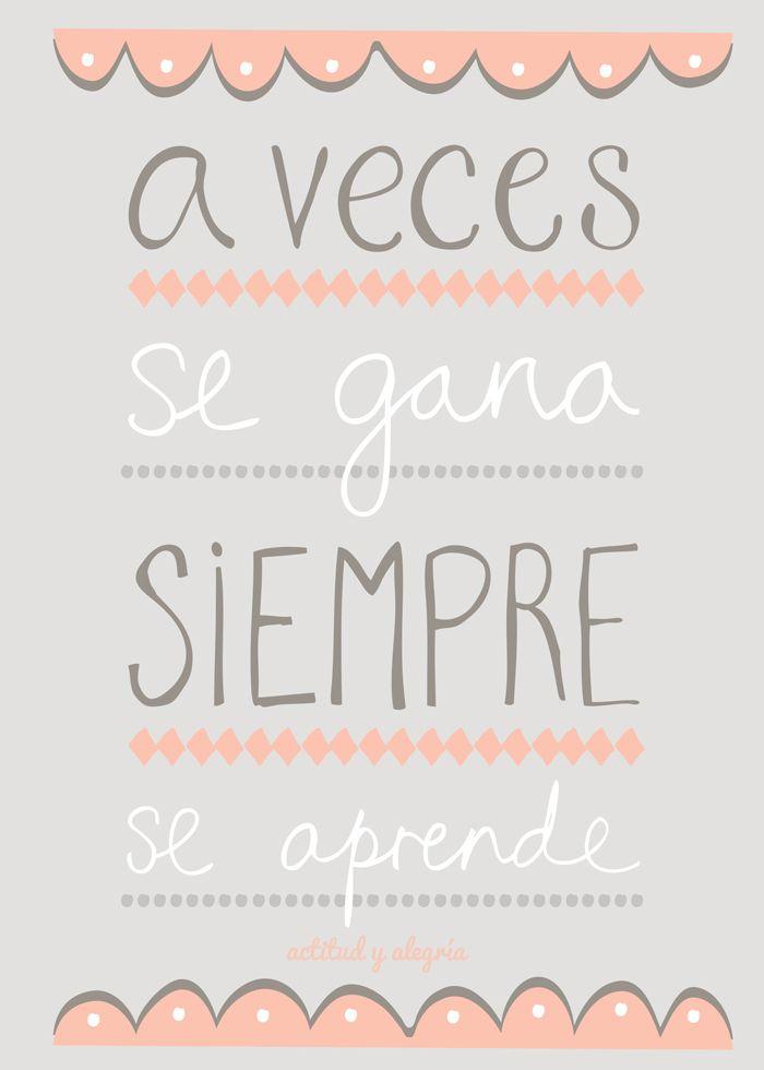actitud y alegría ♥: A veces...