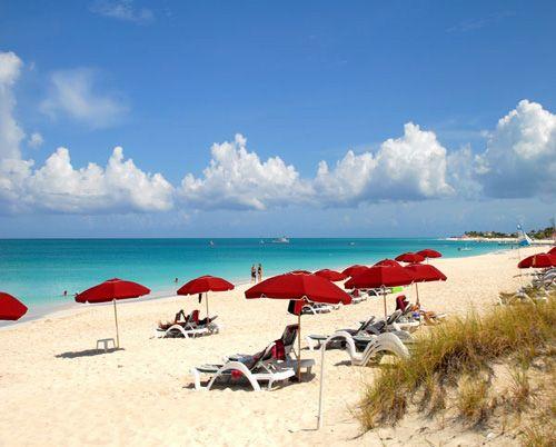 Grace Bay Beach, an amazing serenity of Caribbean Sea