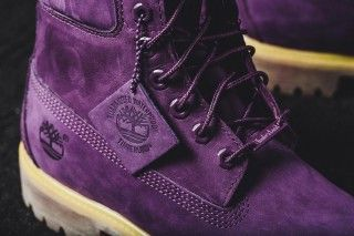 Image result for purple timberland boots