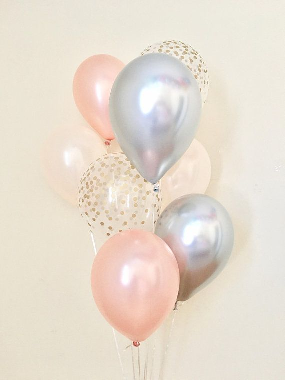 """PARTYSHOP - 10/""""//12/"""" PREMIUM LATEX BIRTHDAY PARTY BALLOONS TRANSPARENT CLEAR"""