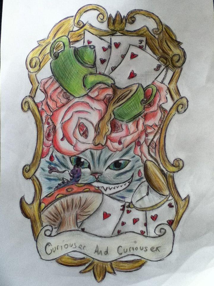 17 best images about alice in wonderland on pinterest dream catcher tattoo edgar allan poe. Black Bedroom Furniture Sets. Home Design Ideas