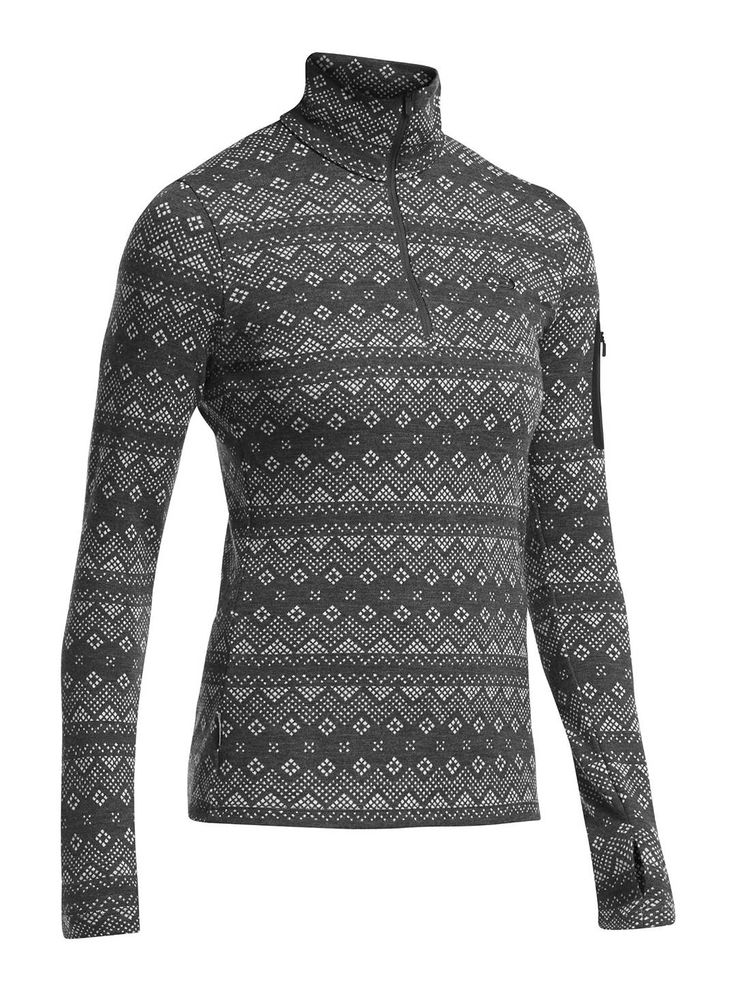 This is a great base-layer for skiing in the harshest conditions. The Icebreaker Women's Vertex Long Sleeve Half Zip is a versatile favorite. Made from warm, stretchy and incredibly soft midweight 260gm, 100% merino wool, the Vertex's half-zip design lets you easily adjust to changing temperatures. Buy yours at CAN-SKI.