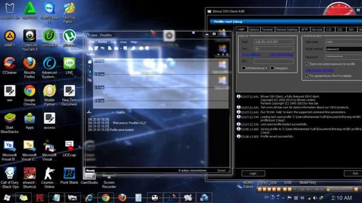 Cara setting SSH