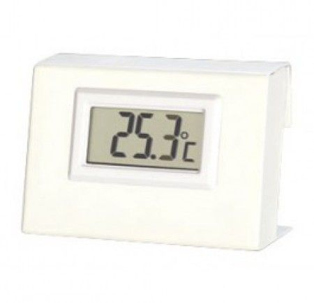Ferntemperaturanzeige für Energiespeicher - Für wasserführende Kaminöfen, passend für die Modelle von Oranier und Justus.Die Ferntemperaturanzeige ist ein digitales Thermometer, das die Rücklauftemperatur am Energiespeicher misst.