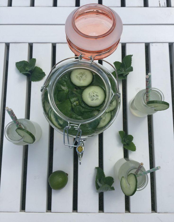 Lemonade- cute delicious drink. Cucumber lemonade, Tasty, refreshing and quench lemonade, cucumber, lemonade, refreshing drink