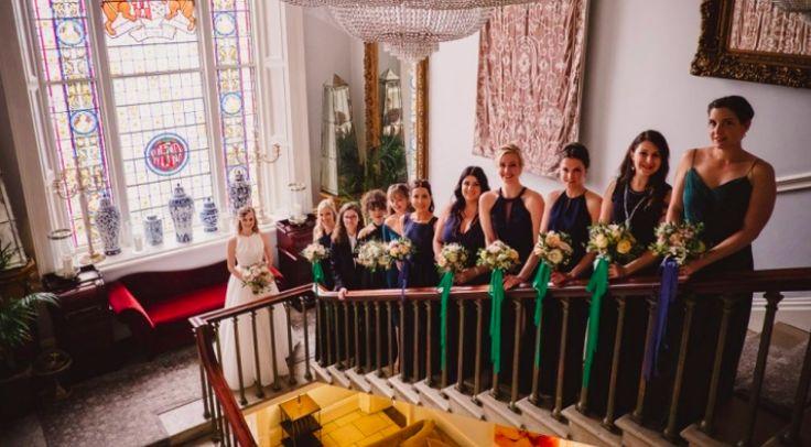 Irish wedding, durrow castle, garden flowers, exclusive weddings, destination weddings, wedding florist, lamber de Bie
