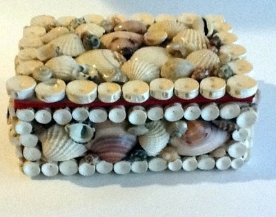 Sea Shell Jewelry Trinket Box