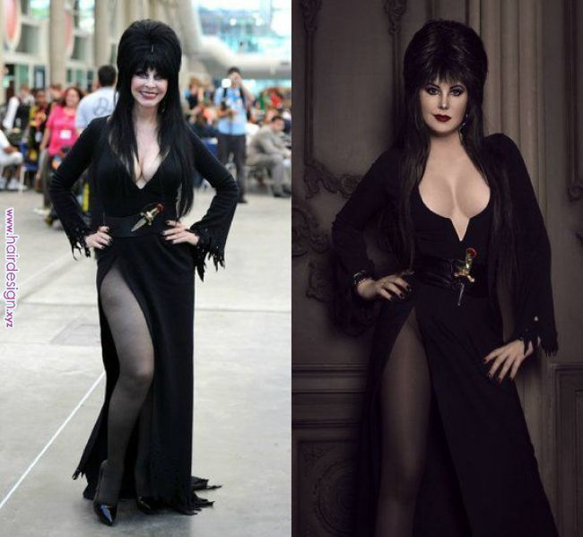 Elvira Mistress Of The Dark Cosplay Sweext 1