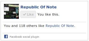 Perubahan Tampilan Like Box Facebook! | Republic Of Note