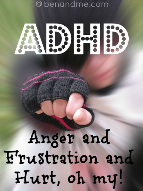 5 Days of ADHD Awareness: Angry, Frustrated, and Hurt, oh my!