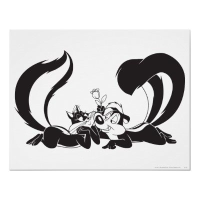 Only Pepe Le Pew and Penelope