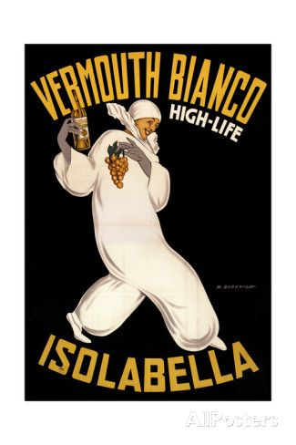 Isolabella Vermouth Bianco Giclee Print