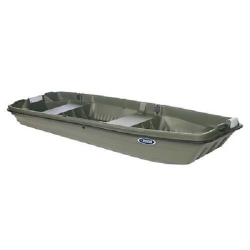 Pelican intruder 12 2 person boat fishing bass boat flat for Flats fishing boats