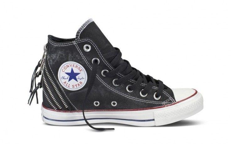 Converse All Star Tri Zip HI Black #converse #allstar #triZip #españa #online
