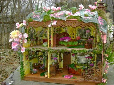 Inside The Pink Fairy House So Whimsical And Fun Fairy