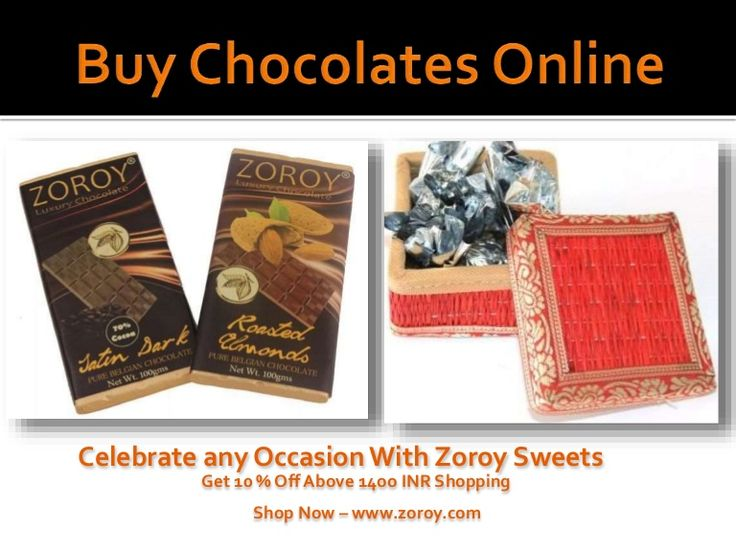 Buy Chocolates Online – Order now chocolate gift at Zoroy within your budget and make every occasion special with our sweets. We Provides free chocolates delivery in all over India anywhere.