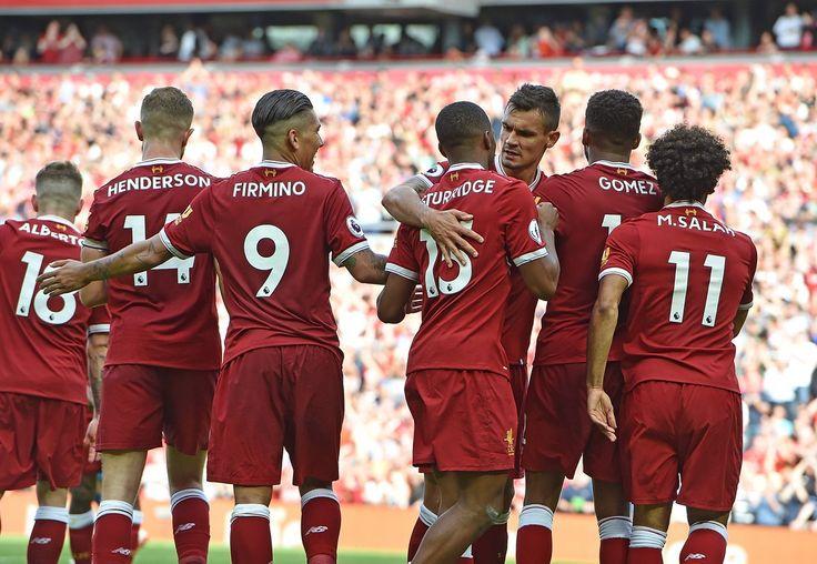 @officiallfc Sturridge #PL #PremierLeague #LIVARS #LiverpoolArsenal #LFC #Liverpool #LiverpoolFC #Mane #Salah #Firmino #Sturridge #Reds #9ine