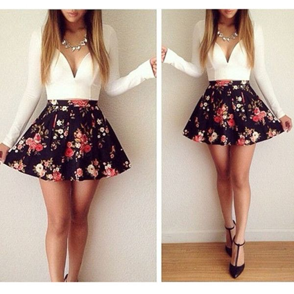 Moda 2016 » Vestidos elegantes juveniles 6