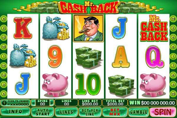 Win upto $75,000 by playing Aussie, #onlinePokie Mr. Cashback:- Its a five reels, 15 paylines game and the only pokie game that gives money back guarantee.