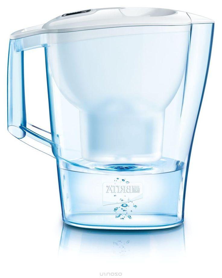 Фильтр-кувшин для воды Brita Aluna Cool, цвет: белый, 2,4 л