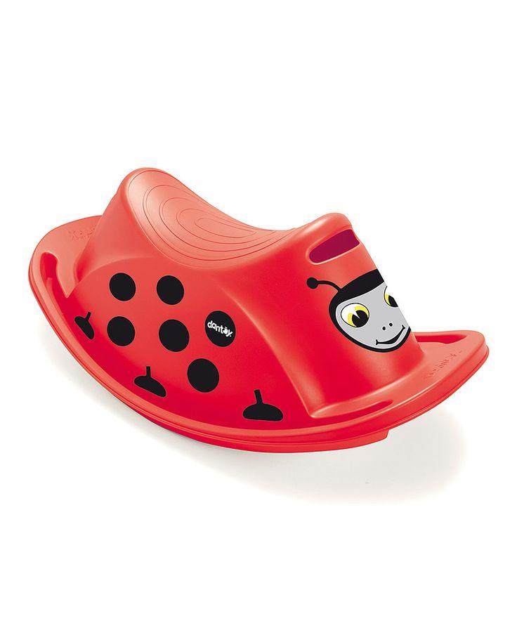 Look what I found on #zulily! Single Ladybug Rocker by Wader Toys #zulilyfinds