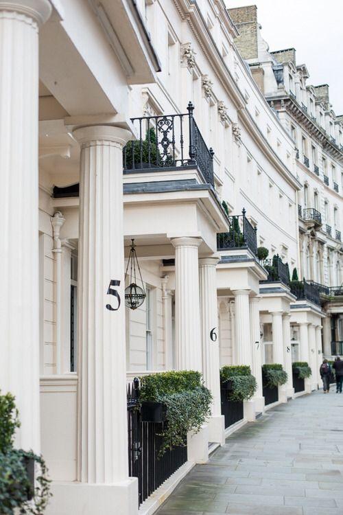 row houses   via Love London Design ~ Cityhaüs Design