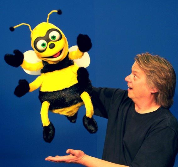 Giant Bee Puppet | Ventriloquist Puppets | Giant Puppet