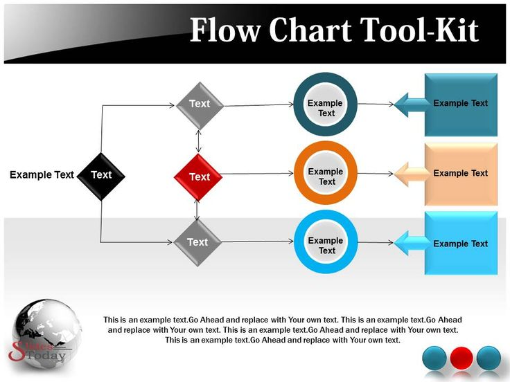 10 best flowchart powerpoint template images on pinterest, Modern powerpoint