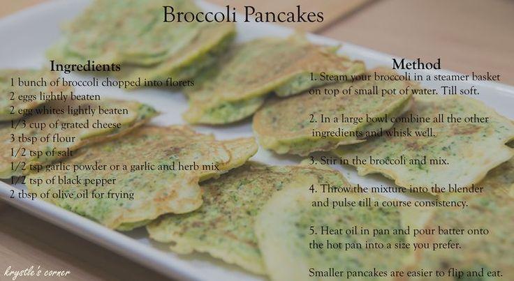 Broccoli Fritters Recipe Blog — Krystle's Corner