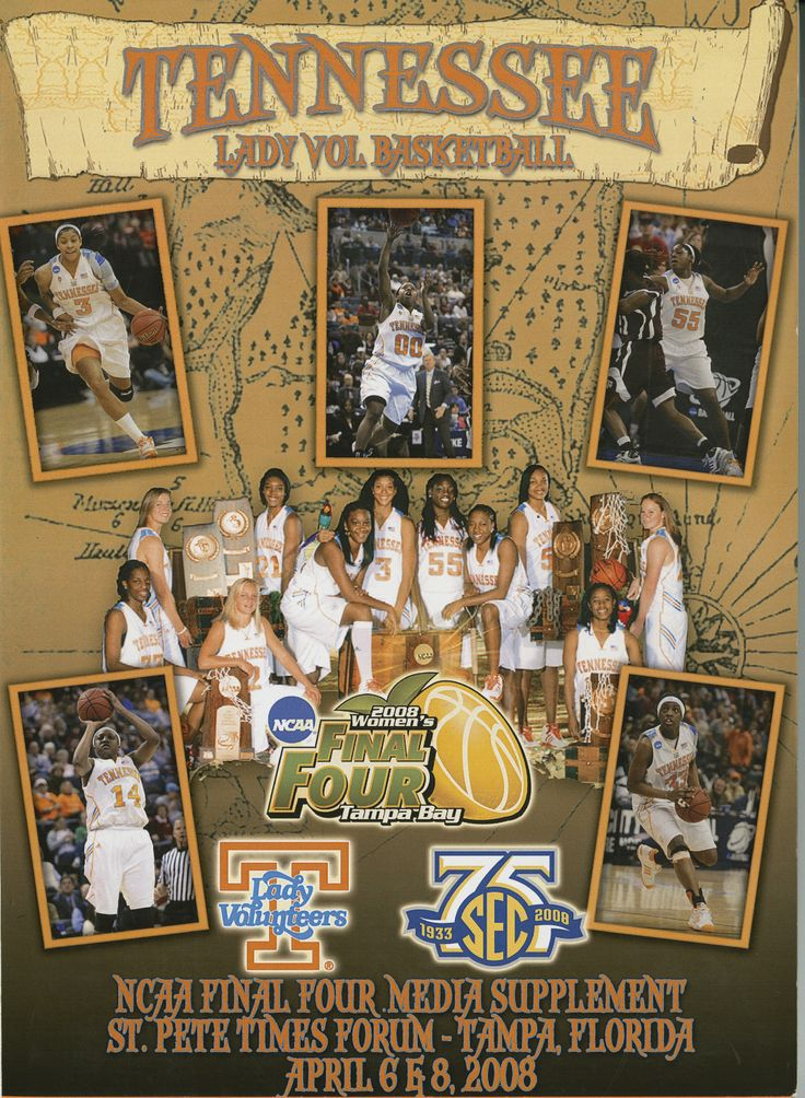 UT Lady Vols Basketball Guide (2008)