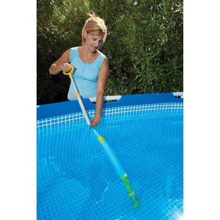 Game Hot Tub and Small Pool Vacuum, Blue