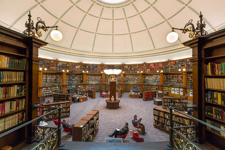 Picton Reading Room, Liverpool Central Library, England