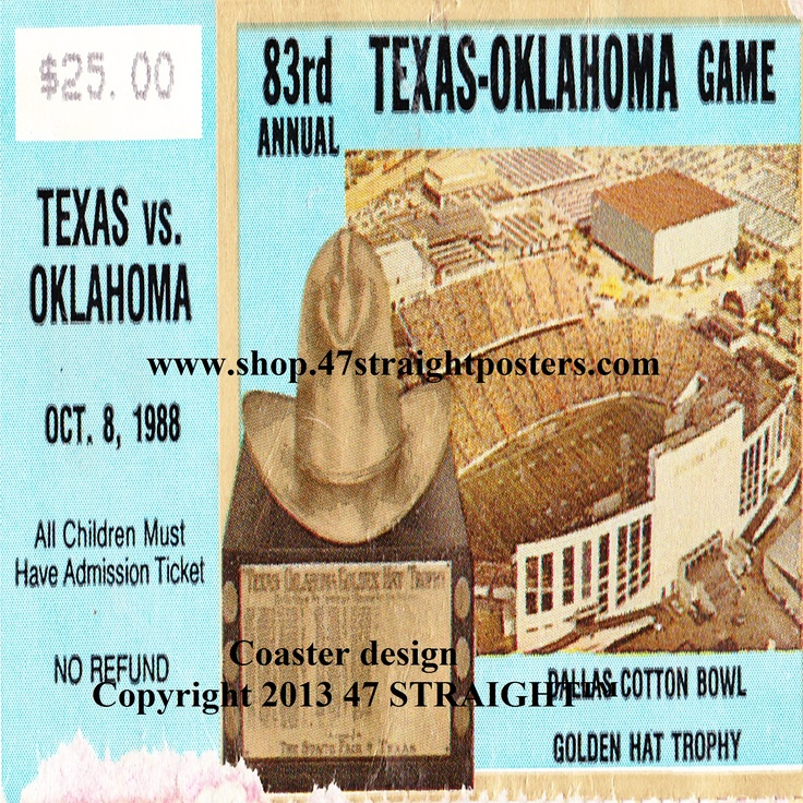 Father's Day gift ideas under 40. 1988 OU vs. Texas