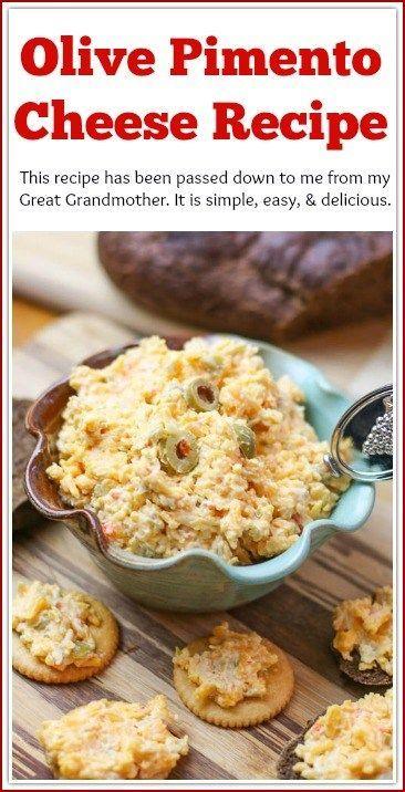 Olive Pimento Cheese Recipe