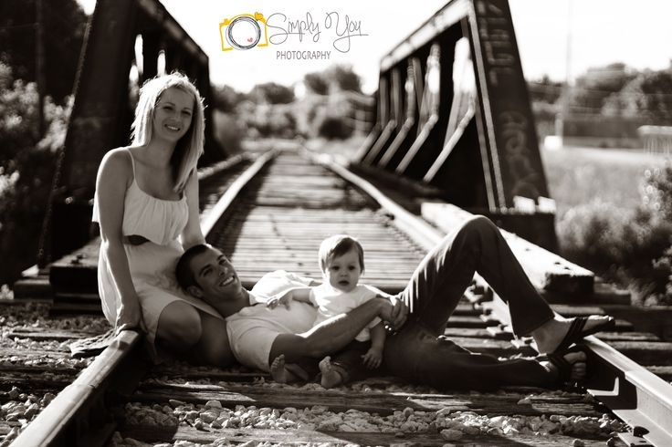 Family Train Tracks Picture  #SimplyYouPhotography https://www.facebook.com/SimplyYouPhotography1