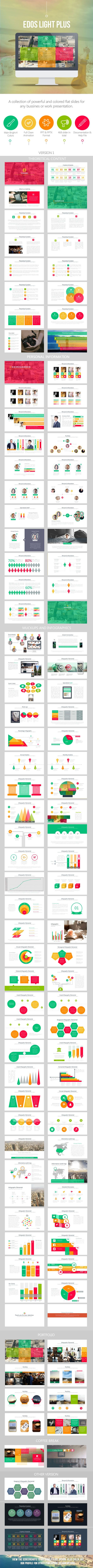 Edos Light Plus - PowerPoint Templates Presentation Templates