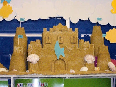 permanent sand castle craft