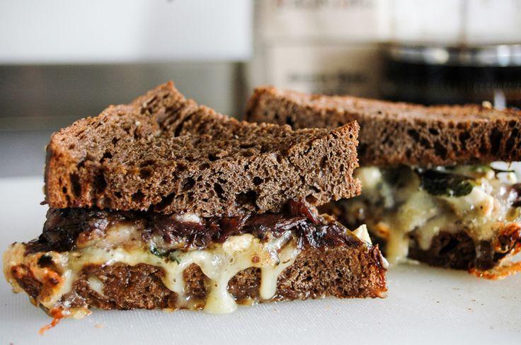 lamb shank, brie, pumpernickel, rye bread, thyme, mint, best sandwich, glorious sandwiches,